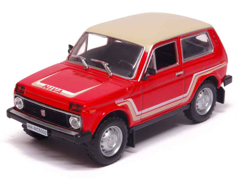 lada niva california 1981 whitebox 1 43 autos miniatures tacot. Black Bedroom Furniture Sets. Home Design Ideas