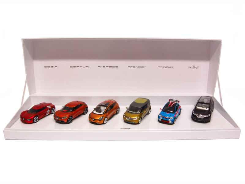 78190 Renault Coffret Concept Car Collection/ Spark Norev
