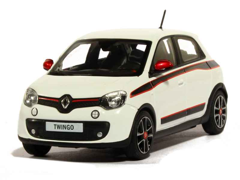renault twingo iii 2014 norev 1 43 autos miniatures tacot. Black Bedroom Furniture Sets. Home Design Ideas