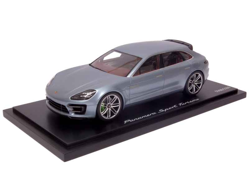 porsche panamera sport turismo 2012 spark model 1 18 autos miniatures tacot. Black Bedroom Furniture Sets. Home Design Ideas