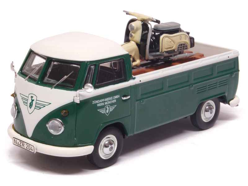volkswagen combi t1 pick up zundapp premium classixxs 1 43 autos miniatures tacot. Black Bedroom Furniture Sets. Home Design Ideas