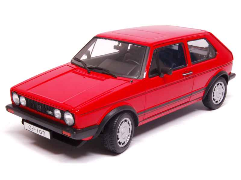 volkswagen golf i gti 1980 welly 1 18 autos miniatures tacot. Black Bedroom Furniture Sets. Home Design Ideas