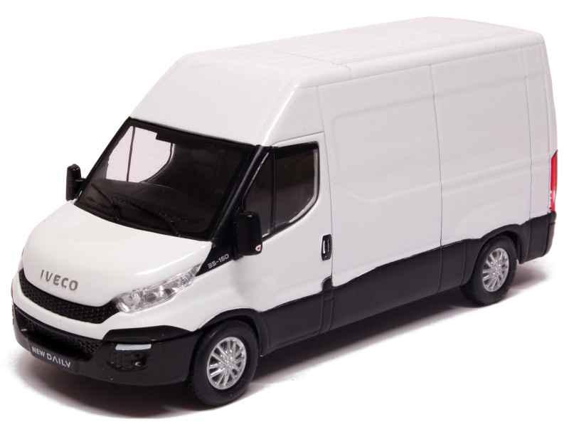 iveco new daily fourgon 2014 eligor 1 43 autos miniatures tacot. Black Bedroom Furniture Sets. Home Design Ideas