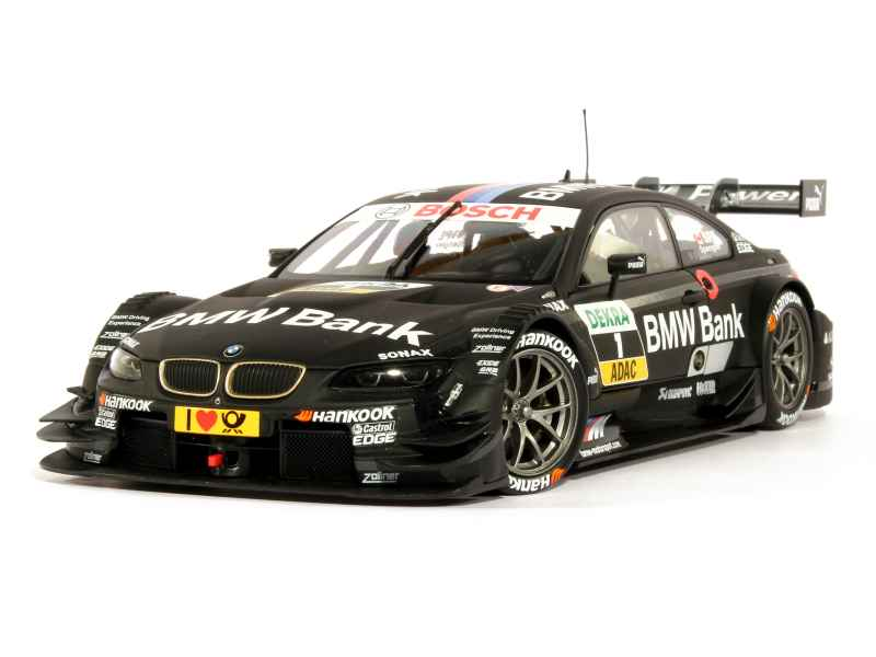 bmw m3 e92 dtm team schnitzer 2013 minichamps 1 18 autos miniatures tacot. Black Bedroom Furniture Sets. Home Design Ideas