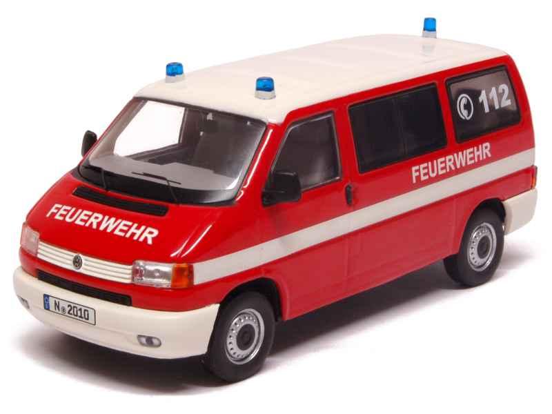 volkswagen combi t4 bus pompiers 1990 premium classixxs 1 43 autos miniatures tacot. Black Bedroom Furniture Sets. Home Design Ideas