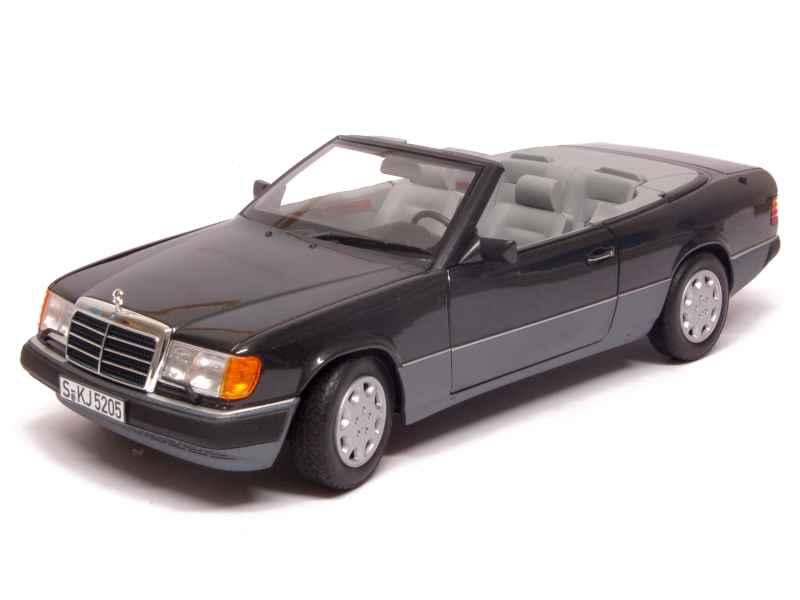 mercedes 300 ce 24 cabriolet w124 1990 norev 1 18 autos miniatures tacot. Black Bedroom Furniture Sets. Home Design Ideas