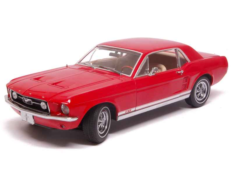 ford mustang gt 1967 greenlight 1 18 autos miniatures tacot. Black Bedroom Furniture Sets. Home Design Ideas