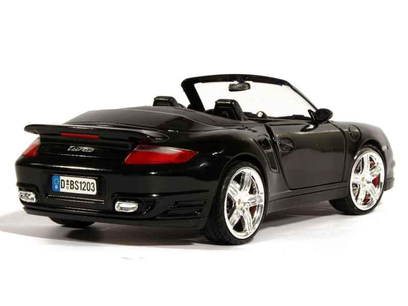 porsche 911 997 turbo cabriolet 2007 motor city 1 18 autos miniatures tacot. Black Bedroom Furniture Sets. Home Design Ideas
