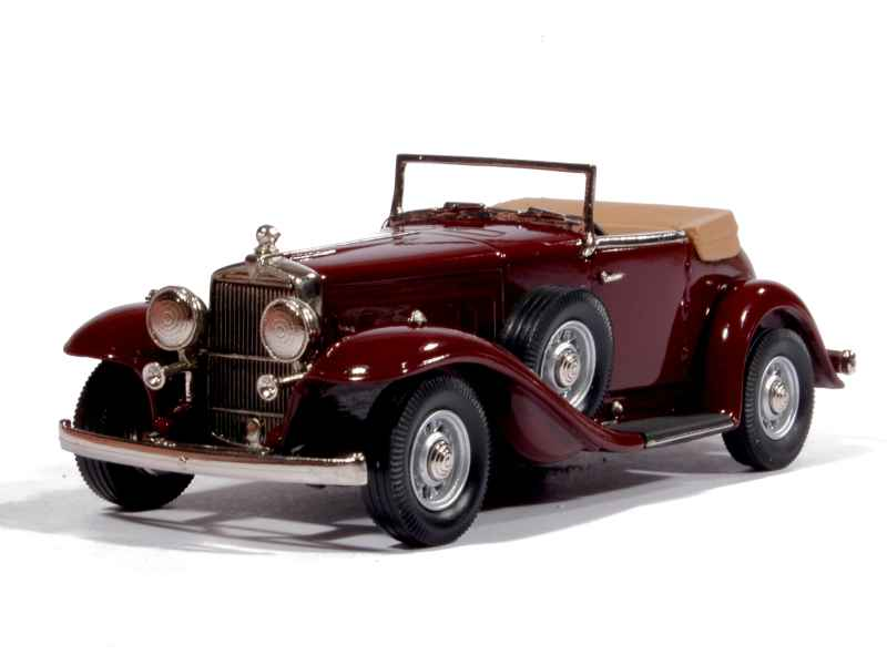 Brooklin - Stutz DV-32 Roadster Weyman Super Bearcat 1933 - 1/43