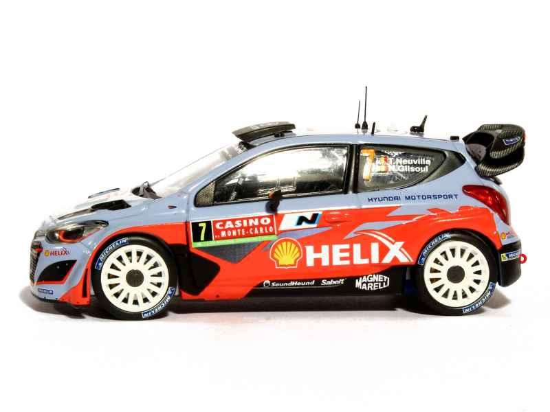 Hyundai - i20 WRC Monte Carlo 2014 - IXO - 1/43 - Autos Miniatures Tacot