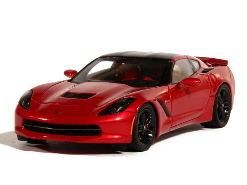 chevrolet corvette c7 2014 spark model 1 43 autos miniatures tacot. Black Bedroom Furniture Sets. Home Design Ideas