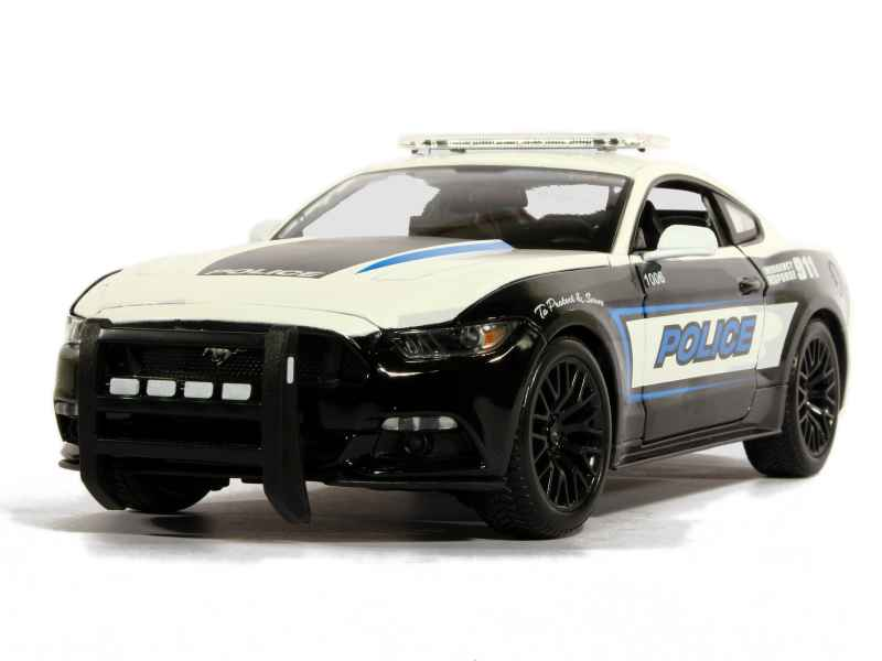 Ford - Mustang GT Police 2015 - Maisto - 1/18 - Autos ...