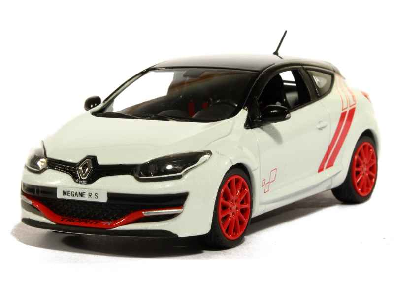 renault megane iii rs trophy r nurburgring 2014 norev 1 43 autos miniatures tacot. Black Bedroom Furniture Sets. Home Design Ideas