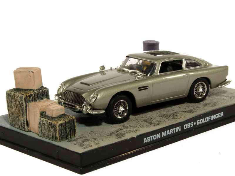 aston martin db5 james bond 007 mod le presse f 1 43. Black Bedroom Furniture Sets. Home Design Ideas