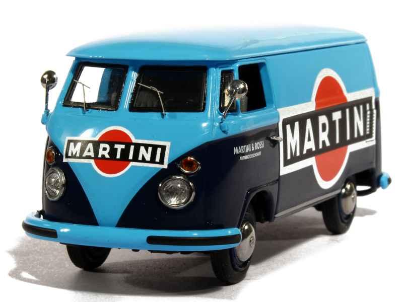 volkswagen combi t1 martini schuco 1 43 autos miniatures tacot. Black Bedroom Furniture Sets. Home Design Ideas