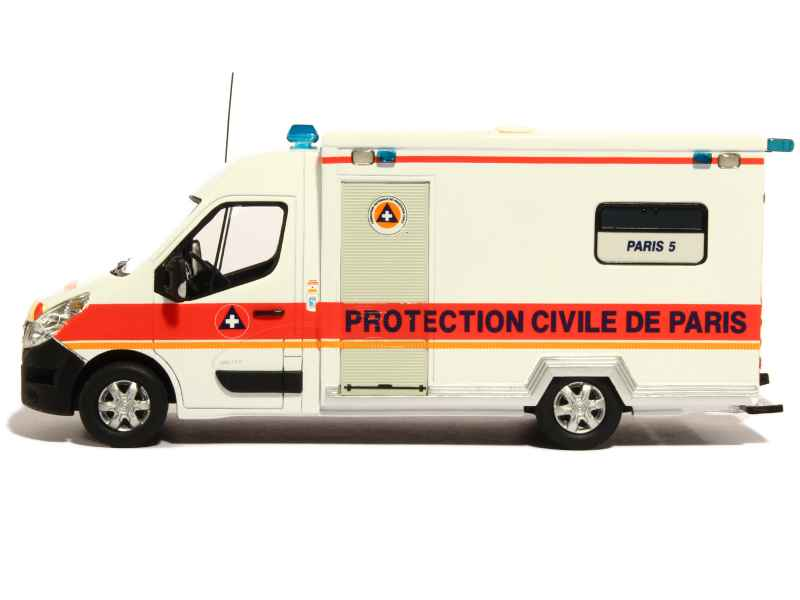 renault master iii caisson ambulance perfex 1 43 autos miniatures tacot. Black Bedroom Furniture Sets. Home Design Ideas