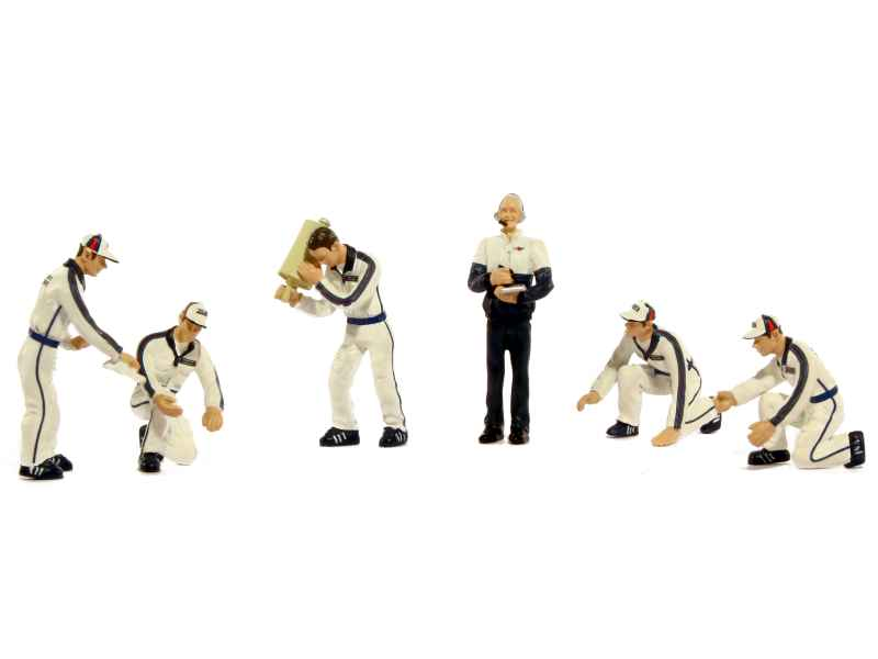 79563 Divers Set Pit Crew Figurines