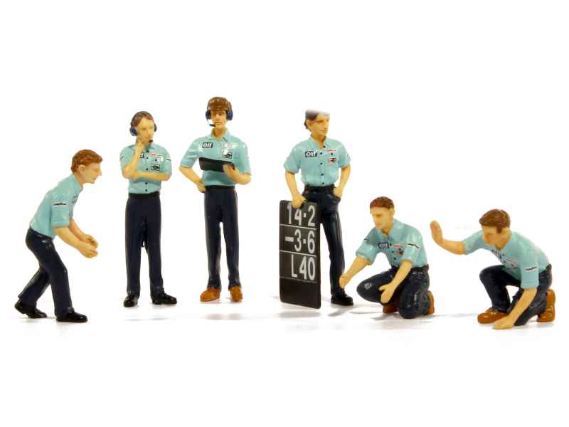 79564 Divers Set Pit Crew Figurines 1976