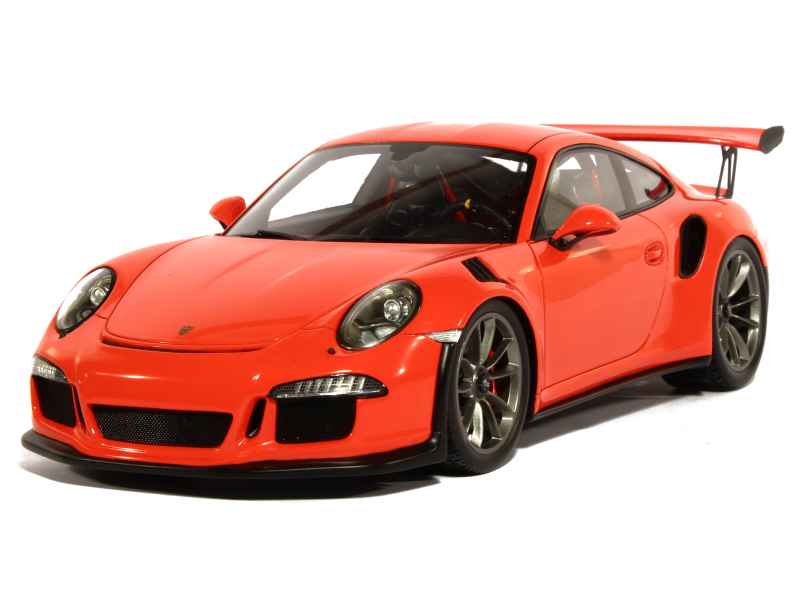 porsche 911 991 gt3 rs 2015 spark model 1 18 autos miniatures tacot. Black Bedroom Furniture Sets. Home Design Ideas