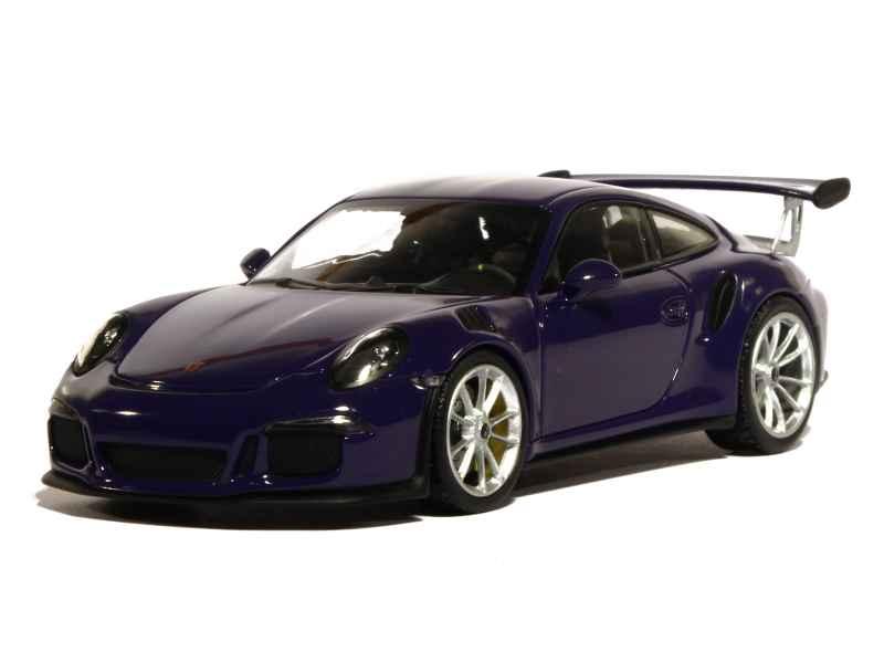 Porsche 911 991 Gt3 Rs 2015 Minichamps 1 43 Autos
