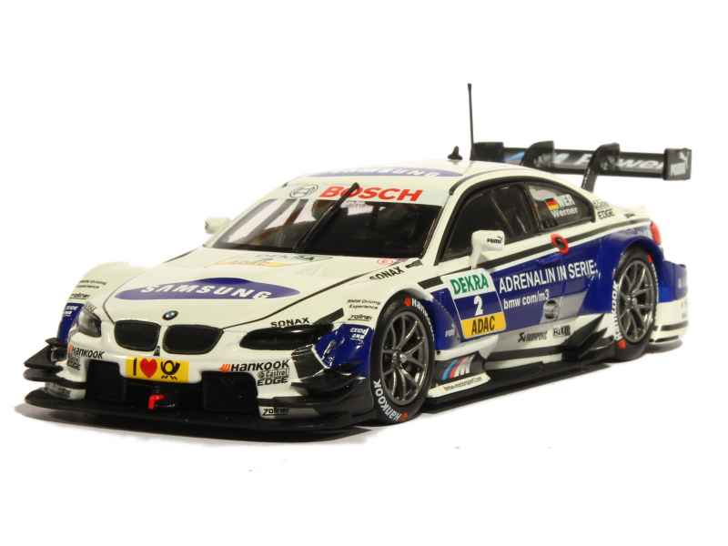 bmw m3 e92 dtm 2013 minichamps 1 43 autos miniatures tacot. Black Bedroom Furniture Sets. Home Design Ideas