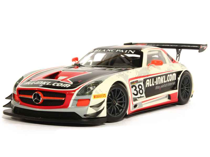 minichamps mercedes sls amg gt3 c197 fia gt1 2012 1 18 ebay. Black Bedroom Furniture Sets. Home Design Ideas