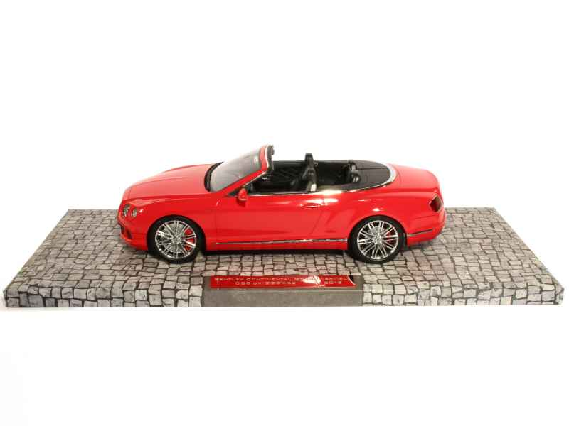 bentley continental gt speed cabriolet 2013 minichamps. Black Bedroom Furniture Sets. Home Design Ideas