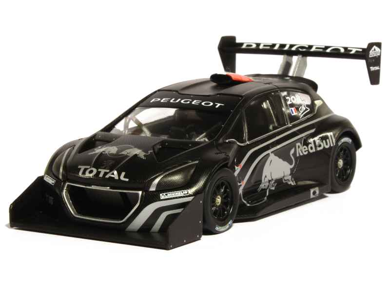 peugeot 208 t16 pikes peak test car 2013 ixo 1 43 autos miniatures tacot. Black Bedroom Furniture Sets. Home Design Ideas