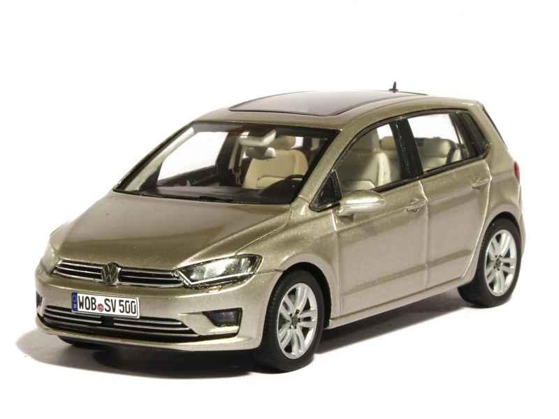 volkswagen new golf sportvan 2015 spark model 1 43 autos miniatures tacot. Black Bedroom Furniture Sets. Home Design Ideas