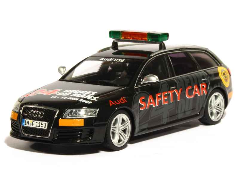 Audi Rs6 Avant Safety Car Le Mans 2009 Minichamps 1