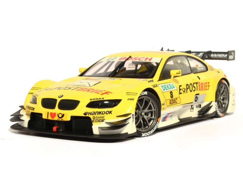 bmw m3 e92 dtm 2012 minichamps 1 18 autos miniatures tacot. Black Bedroom Furniture Sets. Home Design Ideas