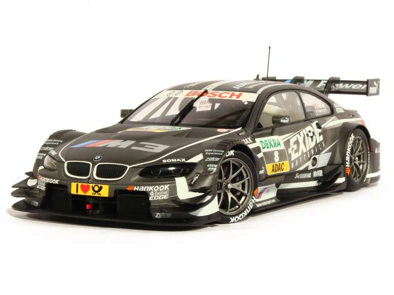 bmw m3 e92 dtm 2013 minichamps 1 18 autos miniatures tacot. Black Bedroom Furniture Sets. Home Design Ideas