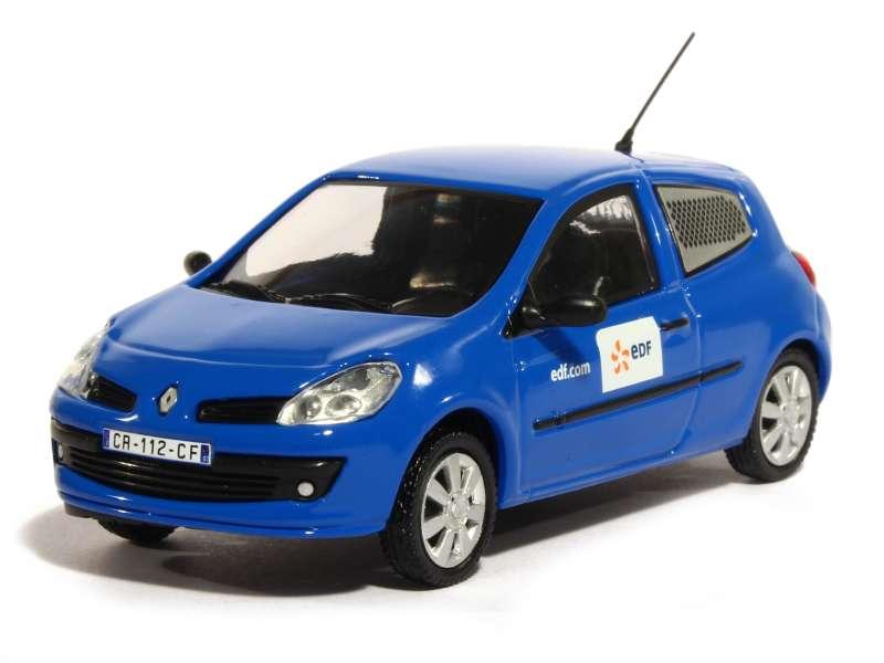 renault clio iii 3 doors edf 2005 eligor 1 43 autos miniatures tacot. Black Bedroom Furniture Sets. Home Design Ideas