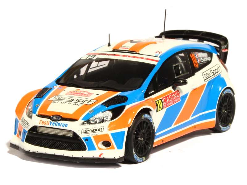 ford fiesta rs wrc monte carlo 2015 spark model 1 43 autos miniatures tacot. Black Bedroom Furniture Sets. Home Design Ideas