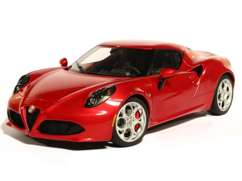 alfa romeo 4c 2013 autoart 1 18 autos miniatures tacot. Black Bedroom Furniture Sets. Home Design Ideas