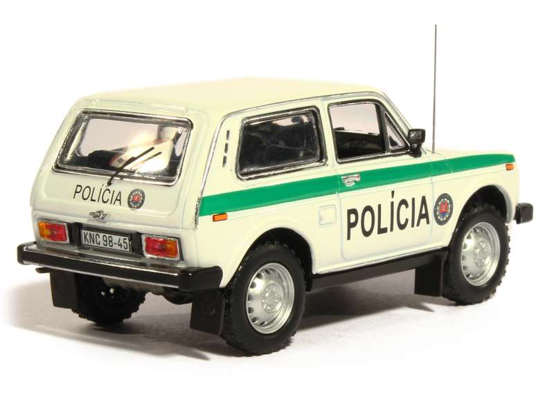 lada niva police 1993 ist 1 43 autos miniatures tacot. Black Bedroom Furniture Sets. Home Design Ideas