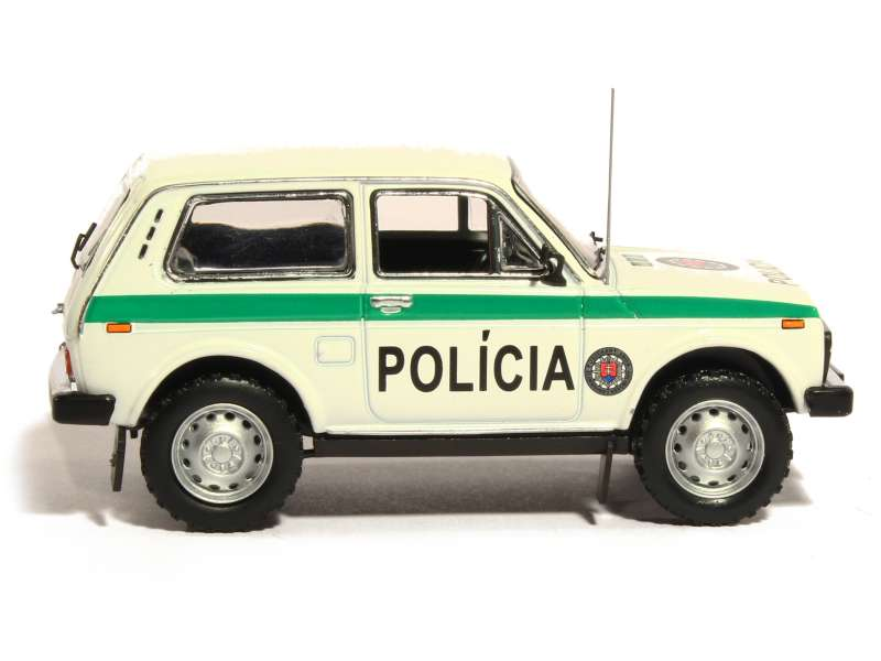 lada niva police 1993 ist 1 43 autos miniatures tacot. Black Bedroom Furniture Sets. Home Design Ideas