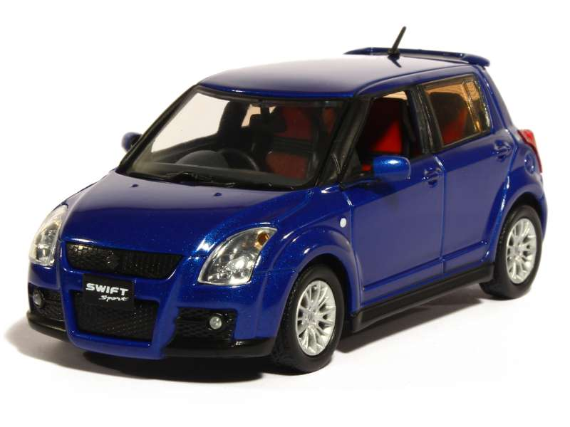 suzuki swift sport 2007 j collection 1 43 autos miniatures tacot. Black Bedroom Furniture Sets. Home Design Ideas