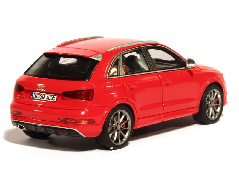 audi rs q3 2015 spark model 1 43 autos miniatures. Black Bedroom Furniture Sets. Home Design Ideas