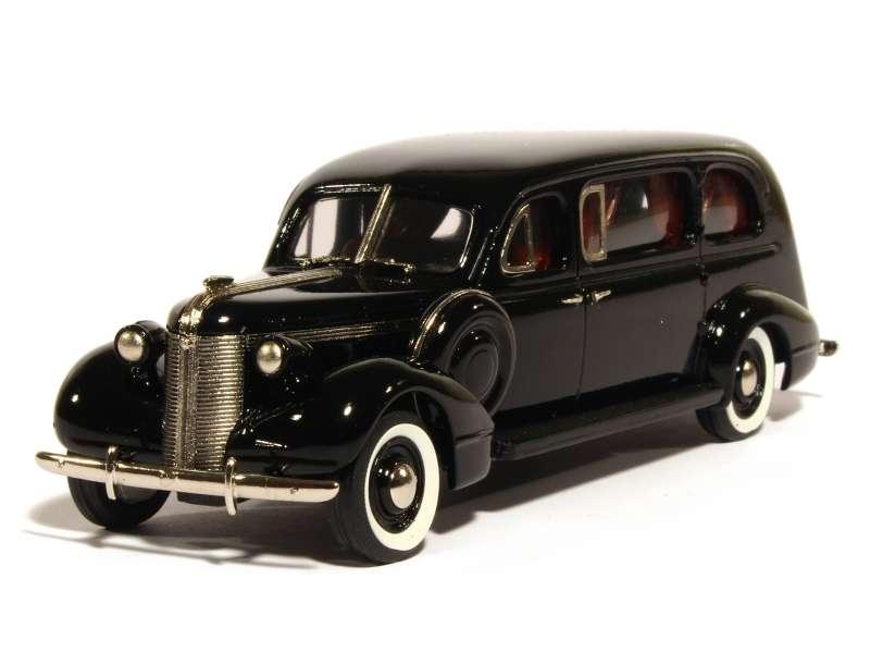Brooklin - Autocar funéraire Pontiac Superior Lawndal 1937 1/43