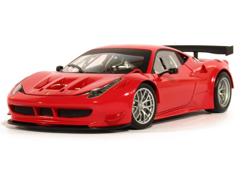 ferrari 458 italia gt2 hot wheels 1 18 autos miniatures tacot. Black Bedroom Furniture Sets. Home Design Ideas