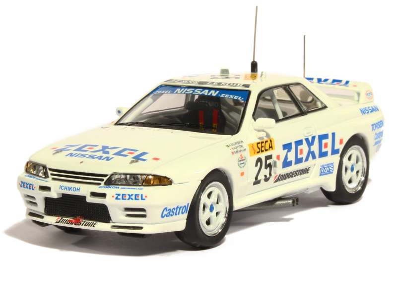 nissan skyline gtr le mans 1991 premium x 1 43 autos miniatures tacot. Black Bedroom Furniture Sets. Home Design Ideas