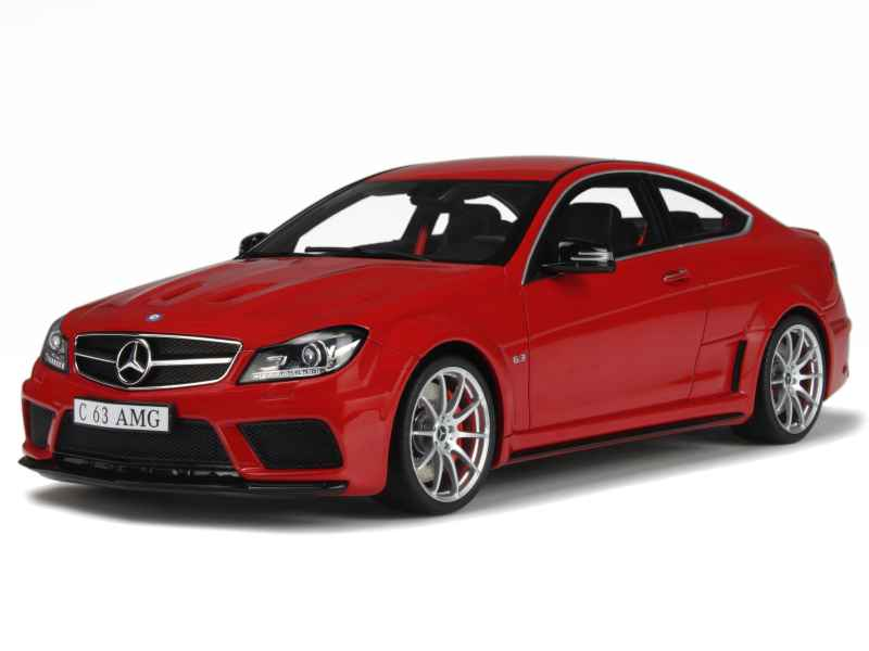 mercedes c63 amg coup 2014 gt spirit 1 18 autos miniatures tacot. Black Bedroom Furniture Sets. Home Design Ideas