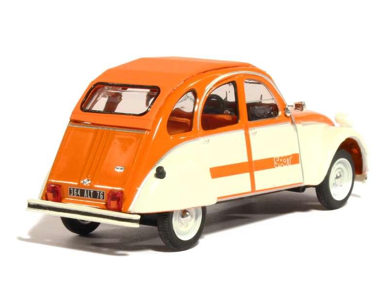 citro n 2cv spot 1976 vitesse 1 43 autos miniatures tacot. Black Bedroom Furniture Sets. Home Design Ideas