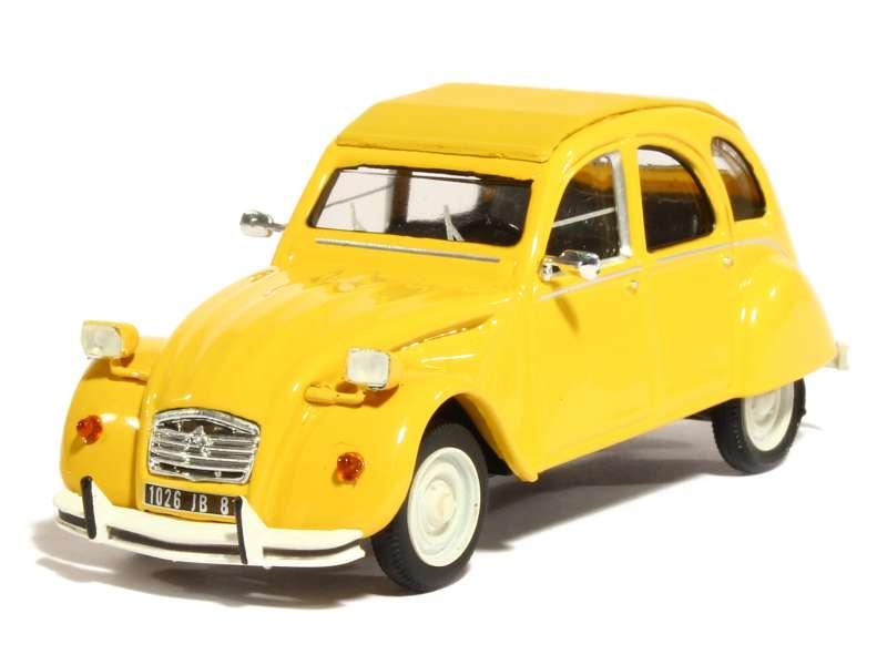 citroen 2cv miniature 1/43