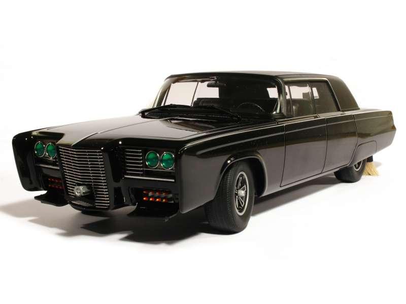 Chrysler Crown Imperial Black Beauty 1966 Autoart 1