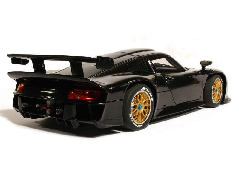 porsche 911 gt1 test 1997 autoart 1 18 autos miniatures tacot. Black Bedroom Furniture Sets. Home Design Ideas