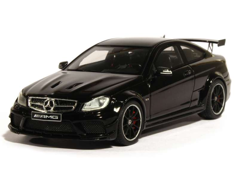 mercedes c63 amg coup black series 2014 spark model 1 43 autos miniatures tacot. Black Bedroom Furniture Sets. Home Design Ideas