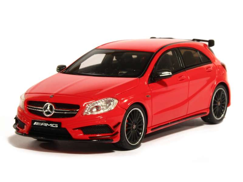 mercedes a45 amg w176 2014 spark model 1 43 autos miniatures tacot. Black Bedroom Furniture Sets. Home Design Ideas