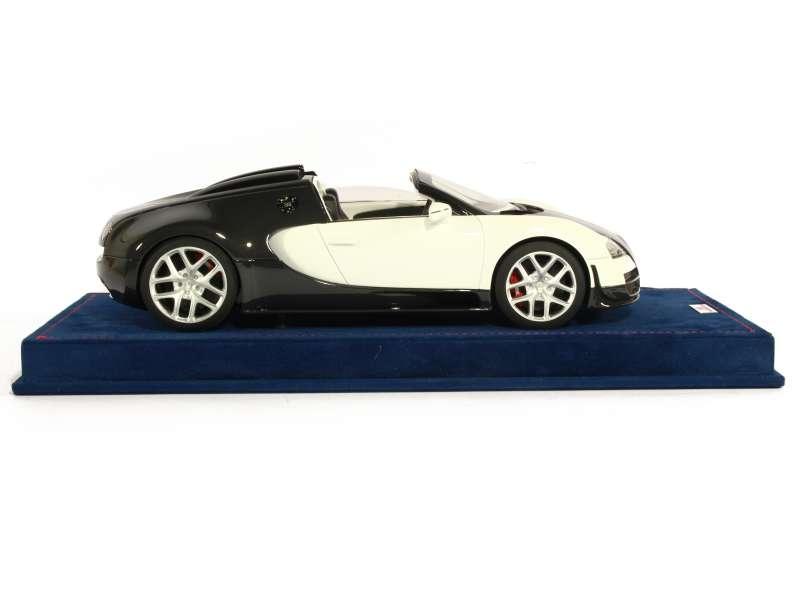 bugatti veyron 16 4 grand sport vitesse 2012 mr 1 18 autos miniatures tacot. Black Bedroom Furniture Sets. Home Design Ideas